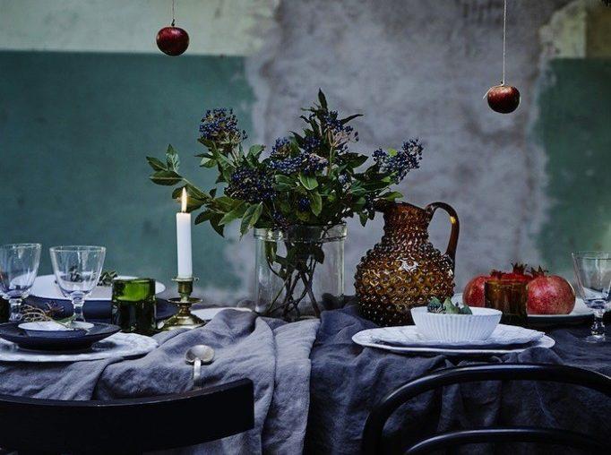 No i znowu stół, ale tym razem w skandynawskim stylu...