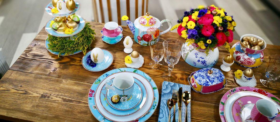 Wielkanocny stół z porcelaną Pip Studio w Dzień Dobry TVN