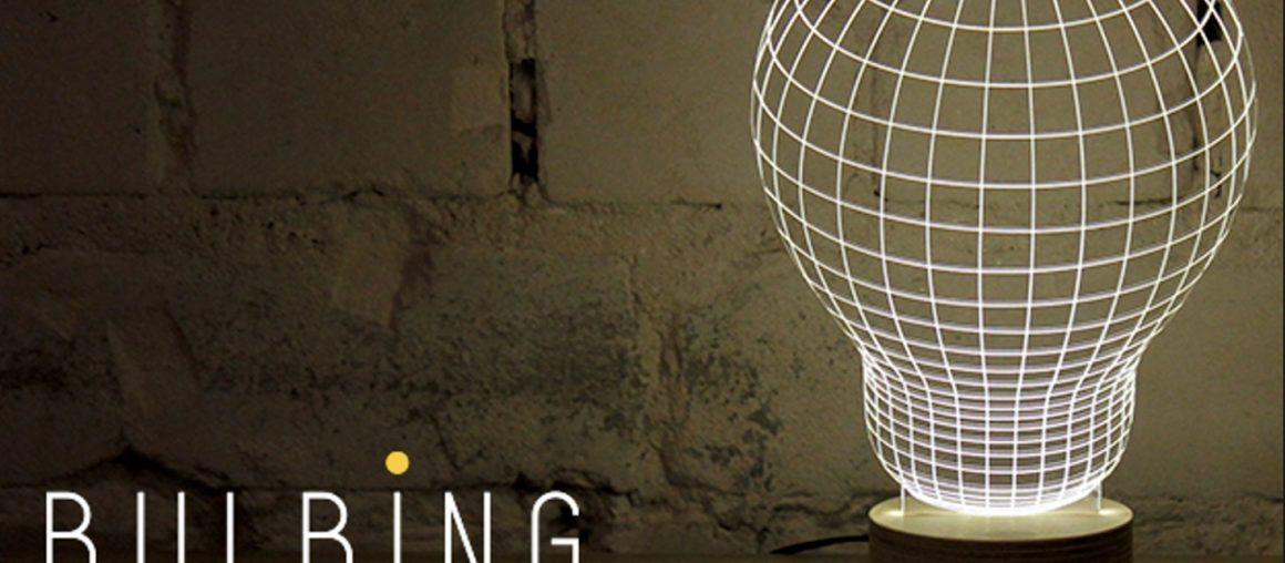 Lampy Cheha Studio...  gra z iluzją wizualną <3